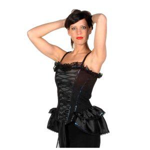 Saloongirl schwarz Kostüm